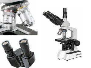 Professionele microscoop trinoculair