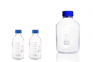 Duran fles voor opslag flotatievloeistof